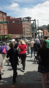 John Neale's walking tour of the South End.