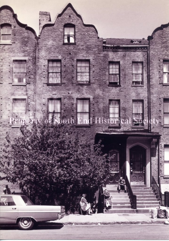 289 Shawmut Avenue, 1972