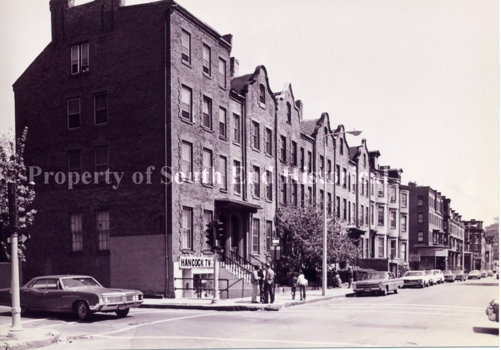 Block 293-275 Shawmut Avenue, 1972