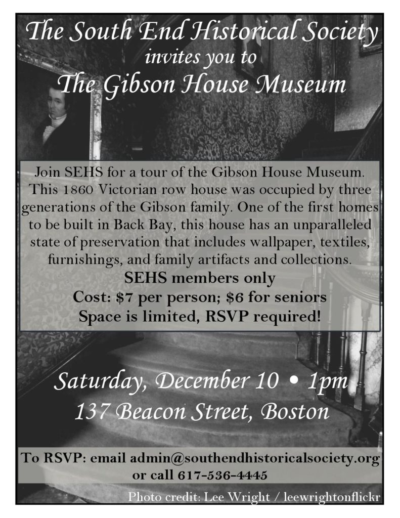 Gibson House Museum @ Gibson House Museum | Boston | Massachusetts | United States