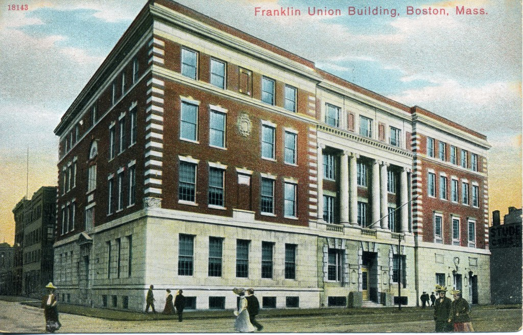 Postcard of the Franklin Union Building